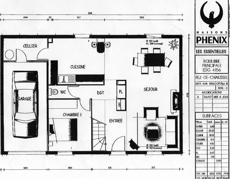 La maison des broctam notre projet tape par tape - Plan de maison phenix ...