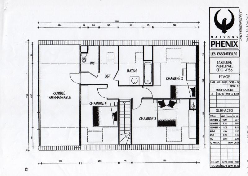 Plan maison phenix cran sous toiture de notre maison phnix travaux extrieurs vue du muret et - Plan maison phenix ...